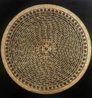 Golden Yin Yang Mantra Mandala