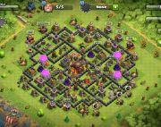Coc th 10 half max with above 2000 gems