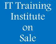 Running IT Training Institute on Sale