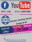 Fully Monetized Youtube & Online On Sale