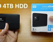 Brand New Wd Easystore 4TB External Hard Drive For 28000
