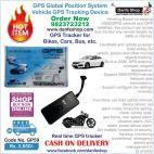 GPS Tracker for Bikes, Cars