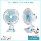 Clip And Table Fan