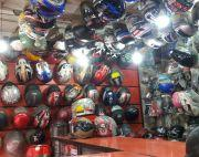 Helmets and parts shop on sale