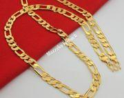 24 caret gold plated chain bracelet