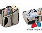Foldable Baby Bed & Bag