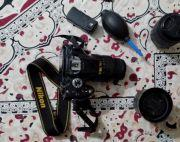 Nikon D5200 and lenses
