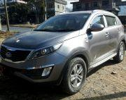 Looking for Kia Sportage here is diesel with 8 air bag for safety