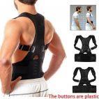 Magnetic Corset Posture Corrector Clavicle Fracture Support Back Shoulder