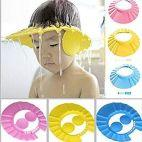 Baby Shower Hair Wash Cap for Children (Multicolour)