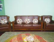 Classic wooden sofa on sale..