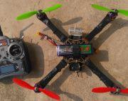 dji F450 quadcopter with extra battery, charger, camera and so on