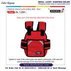 Children Motorcycle Safety Belt