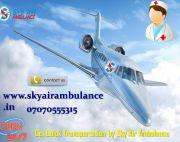 Book Modern Air Ambulance Service in Vellore with Ventilator Facility