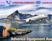 Get Best and Fast Air Ambulance Service in Lucknow with ICU Facility