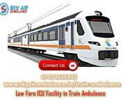 Utilize Train Ambulance Service in Delhi at Economical Rate