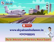 Hire The World's Finest ICU Equipped Air Ambulance in Mumbai