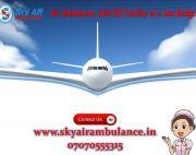 Avail Top-Class Cure Facility in Air Ambulance from Chennai