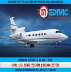 Pick Medivic Air Ambulance Service in Bhopal at Very Ordinary Cost