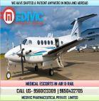 Now Book Low Price Air Ambulance Service in Gorakhpur by Medivic