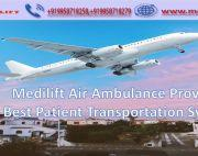 Take Fast Patient Transfer Air Ambulance Service in Guwahati with ICU