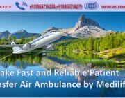 Book Top-Level Air Ambulance Service in Siliguri with ICU Facility