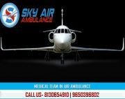Select Air Ambulance in Bhopal Any-time with Expert Medical Team