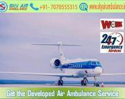 Book Sky Air Ambulance in Varanasi at the Cheapest Cost