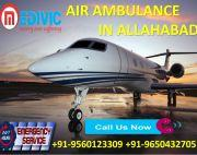 Take Stress-Free Emergency Air Ambulance Service in Allahabad by Medivic