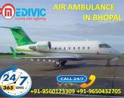 Use Top-Grade Life Support Medivic Air Ambulance Service in Bhopal