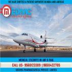 Now Book Normal Fare Air Ambulance Service in Bangalore by Medivic