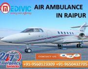 Take Advance ICU Care by Medivic Air Ambulance Service in Raipur