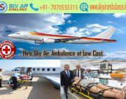 Receive Modern Charter Air Ambulance Service in Aurangabad