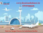 Take Most Comfortable Air Ambulance Service in Vellore with ICU Specialist