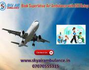 Choose Sky Air Ambulance Service in Shimla with Top Notch Medical Support