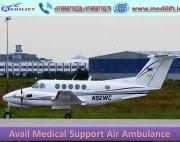 Take Safe Patient Transfer Air Ambulance Service in Varanasi