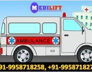 Hire Top-Quality Road Ambulance Service in Janakpuri by Medilift