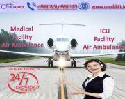 Take Fast Patient Transfer Air Ambulance Service in Bhopal by Medilift