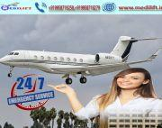 Utilize Medical Facility Air Ambulance Service in Siliguri by Medilift