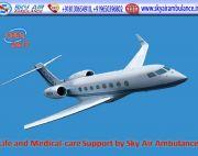 Take Royal ICU Setup Air Ambulance Service in Imphal