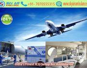 Book Now Air Ambulance Service in Gorakhpur with Expert Doctor