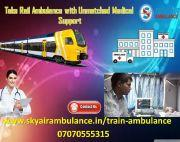 Book Train Ambulance Service in Chennai at the Lowest Price
