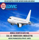 Now Book Full Hi-tech ICU Air Ambulance Services in Guwahati by Medivic