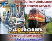 Get Fastest and Safest Train Ambulance Services in Kolkata – Falcon Emerge