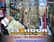 Reliable Train Ambulance Services in Lucknow at Low Rates