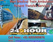 Get Best-Fare Train Ambulance Services in Hyderabad – Falcon Emergency