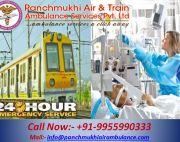 Panchmukhi Train Ambulance Service in Kolkata with the Latest ICU Setup