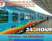 Avail Best Train Ambulance Service in Ranchi by Panchmukhi