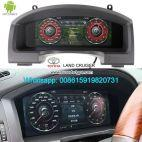 Toyota Land Cruiser 2007-2019 Car Panel Meter Multimedia GPS Player Androi