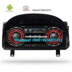 Toyota Alphard 2008-2014 Car dashboard Multimedia player Android 12.3inch